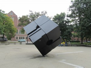 The Cube in Regent's Plaza