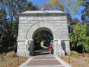Camp Randall Memorial Arch