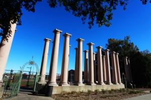 Old Iron Gates & Columns